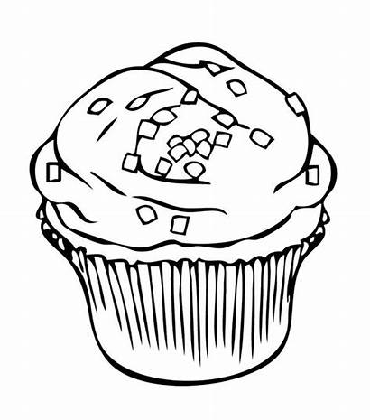 Coloring Pages Cookie Cookies Cupcake Cupcakes Chocolate