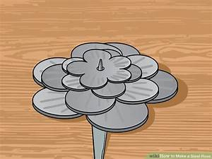 how to make a steel rose 9 steps with pictures wikihow With forged rose template