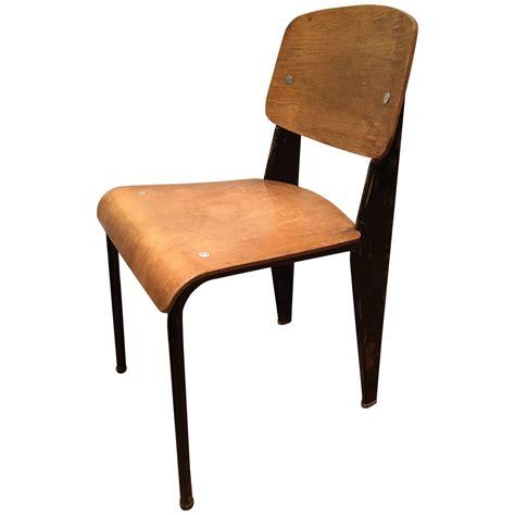 original jean prouve quot metropole quot no 305 chair for sale at