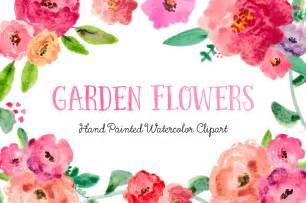 gardenia bouquet watercolor flower clipart 78