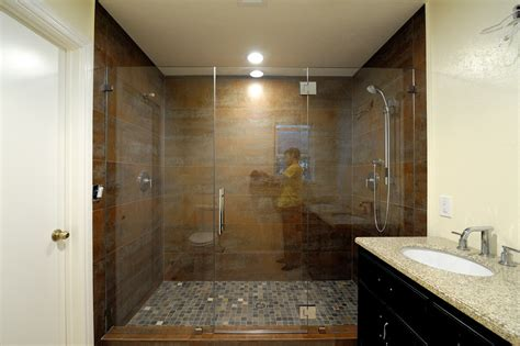 how much does a tile shower cost how much do frameless glass shower doors cost