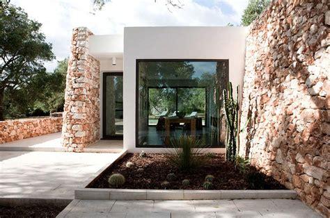 italian stone house surrounded  beautiful olive trees