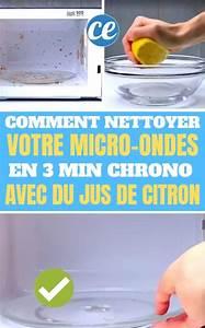 Nettoyer Micro Onde Citron : 33 super astuces de nettoyage que tout le monde devrait ~ Melissatoandfro.com Idées de Décoration