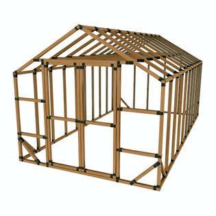 Shed Bracket Kit by E Z Frames 10x20ss 10x20 E Z Frame Storage Shed Structure Kit