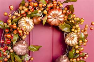 12 Dollar Store Awesomely Easy DIY Fall Wreaths Preppy Chic