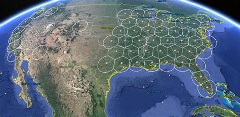 Satellite Footprints for Ka-band   Montana Satellite ...