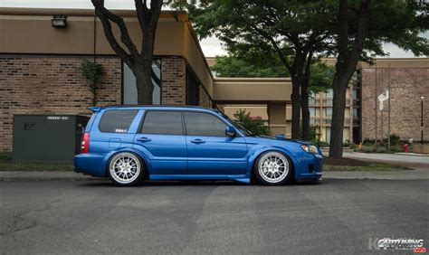 Lowered Subaru Forester Side