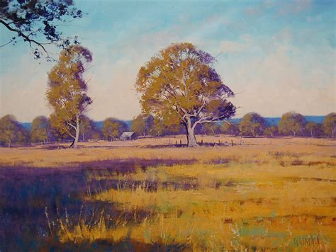 Australian Summer Landscape By Artsaus On Deviantart