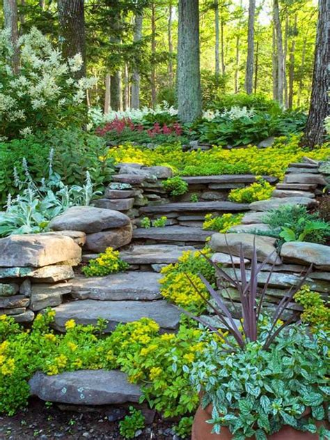 ideas for gardens on a slope landscaping on a slope how to make a beautiful hillside garden interior design ideas avso org