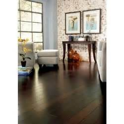 Home Decorators Home Depot Chicago by Scraped Strand Woven Walnut 1 2in Thick X4 92 In