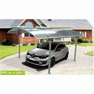 Carport Camping Car Alu : garage avec carport polycarbonate comparer 14 offres ~ Dailycaller-alerts.com Idées de Décoration