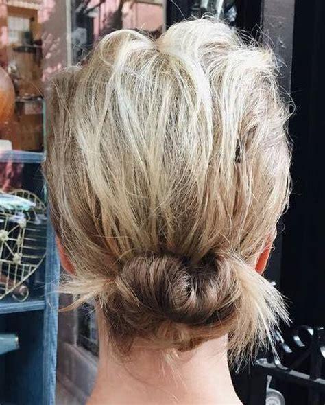 amazing bun updo ideas  long medium length hair pretty designs