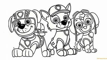 Paw Patrol Coloring Patrulha Skye Canina Colorir
