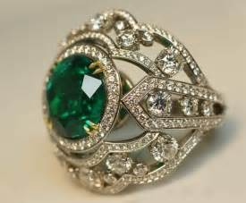 emerald vintage engagement rings emerald engagement ring