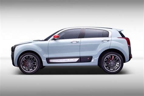 Small Hybrid Suv qoros 2 suv phev concept previews possible b segment suv