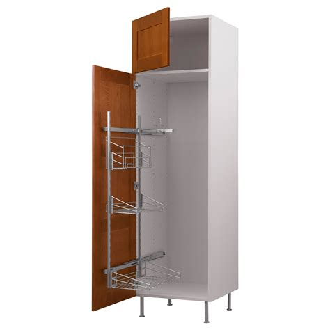 Kitchen Pantry Fittings by Pantry Wall 23 7 8x80 Quot Akurum High Cab Pull Out Interior
