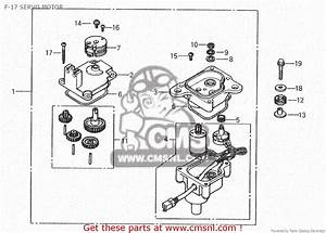 Honda Nsr150rr 1993  P  F-17 Servo Motor