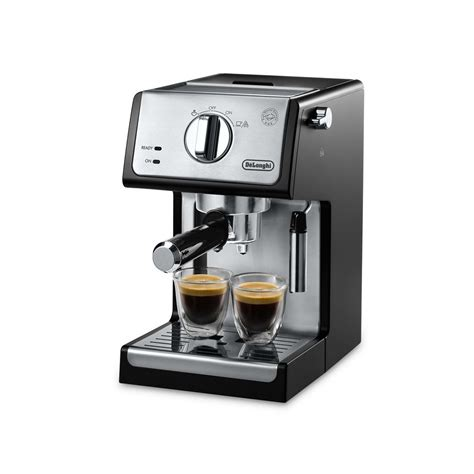 Traditional coffee makers and espresso machines take up a lot of counter space, however. DeLonghi 15 Bar Pump Coffee/Espresso Maker & Reviews | Wayfair