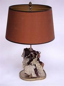 Lampe En Pierre : lampe mont e sur une pierre min rale circa 1950 paul bert serpette ~ Teatrodelosmanantiales.com Idées de Décoration