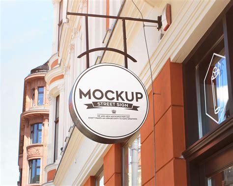 Street Sign Free Mockups | Mockup World HQ