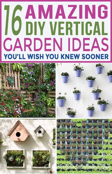 Vertical Garden Diy Ideas by 16 Creative Diy Vertical Garden Ideas For Small Gardens