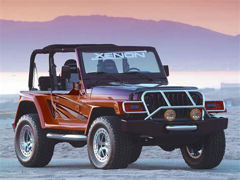 Xenon 1997-2006 Jeep T-j Wrangler W-w Tuning 4x4 Custom D