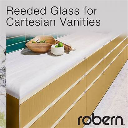 Glass Reeded Robern Introduces Thoroughly Timeless Textured