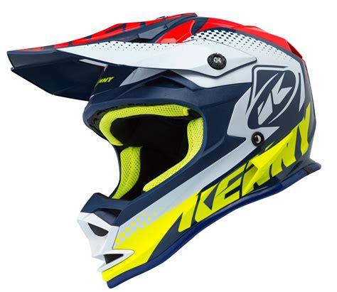 Casque moto cross enfant Kenny Performance navy rouge 2018