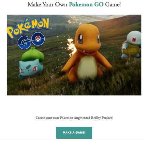 The Library Voice Build Your Own Pokemon Go Augmented