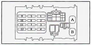 94 Geo Prizm Fuse Box Diagram