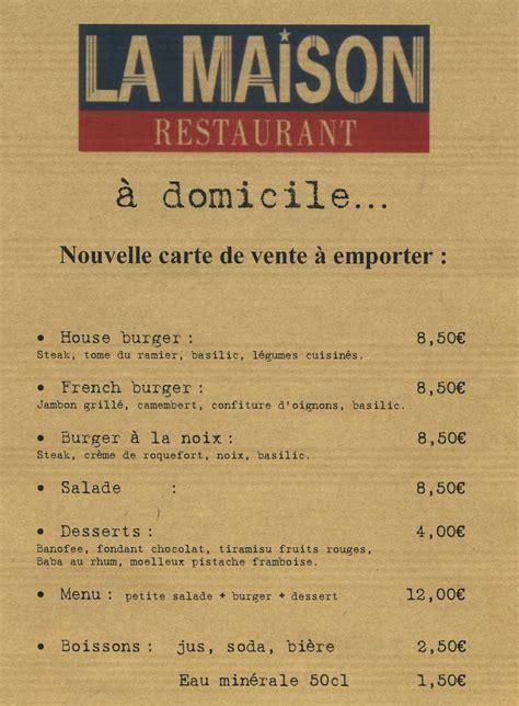 restaurant la maison montauban restaurant la maison en centre ville de montauban 82