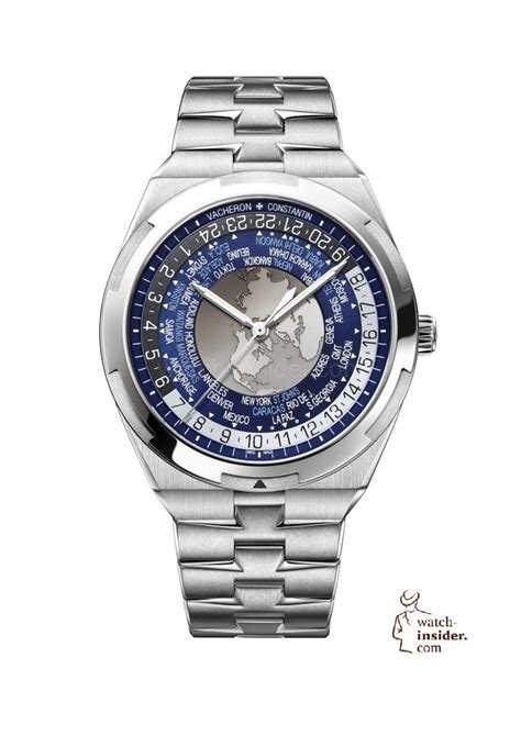 Change Time On U Boat Watch by Vacheron Constantin Overseas World Time Luxury Watches