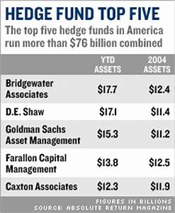 Hedge funds faced a tough year in 2005 - Dec. 12, 2005