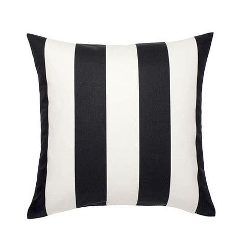 pillow covers ikea ikea vargyllen cushion cover 20x20 black white stripes