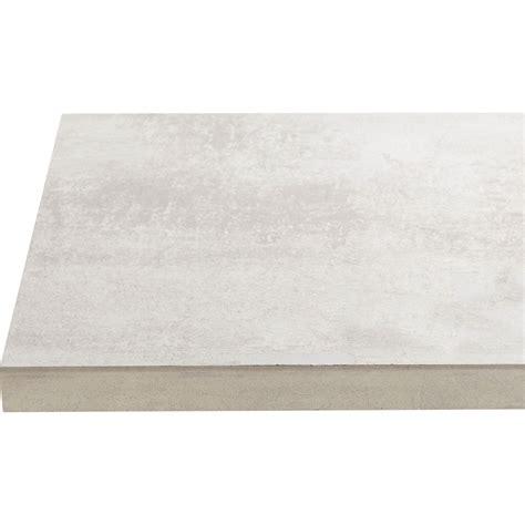 plan de travail cuisine stratifié leroy merlin plan de travail stratifié effet béton blanc l 246xp 63 5