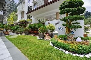 Landscaping design for landed houses for Latest landscape design
