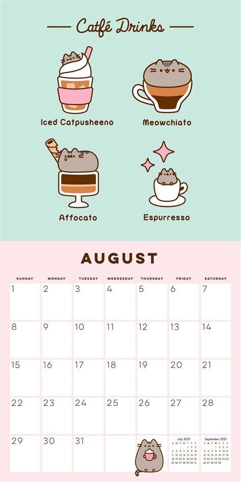 pusheen  wall calendar book summary video