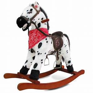 Licorne A Bascule : acheter un cheval bascule en peluche ~ Teatrodelosmanantiales.com Idées de Décoration