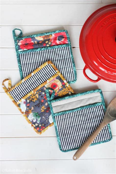 sew  simple potholder allfreesewingcom