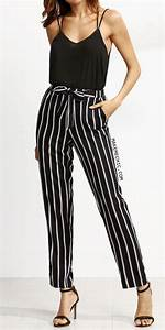 Striped Pants for Trendy Street Styles
