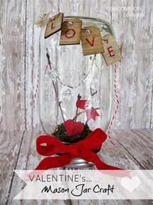 Mason Jar Valentine Craft