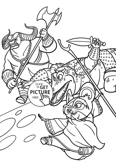 master shifu  kung fu panda coloring pages  kids