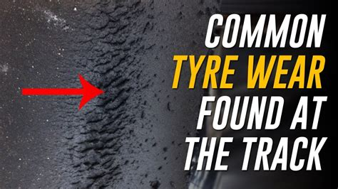 Motorcycle Tyre Wear On The Track