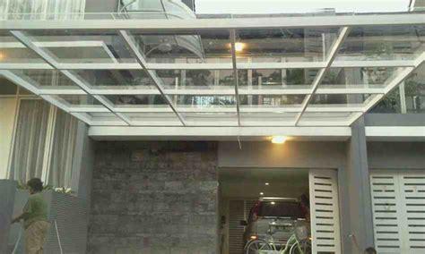contoh kanopi kaca rumah elegan eksterior rumah