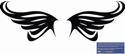 Wings Vector Simple Clipart Eagle Wing Library