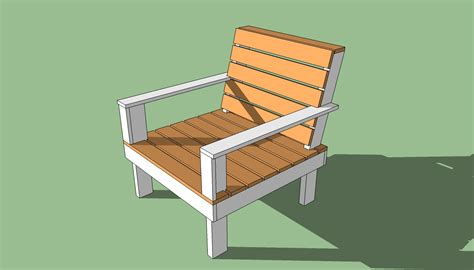 outdoor chair plans howtospecialist   build step