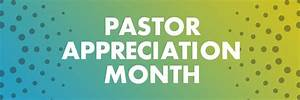 October is Pastor Appreciation Month - The Rock Church