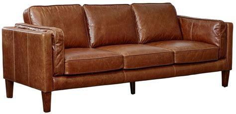 brompton leather sofa berkley cocoa brompton vintage leather sofa from lazzaro 1813