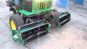 John Deere 2653a 18hp Diesel Riding Reel Mower 3 Wheel