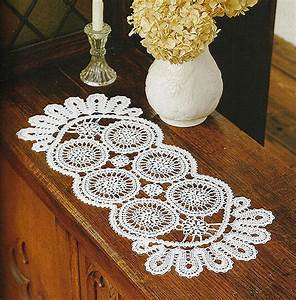 Long Circle Doily Crochet Pattern  U22c6 Crochet Kingdom